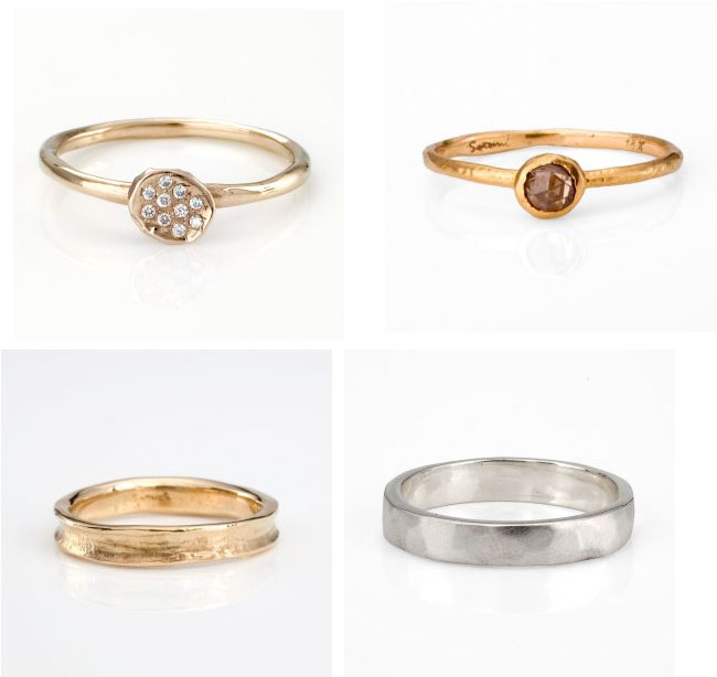 funky wedding rings for women