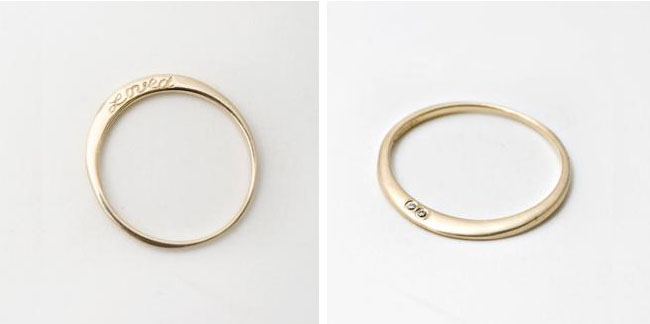 unique wedding rings - Different Wedding Rings