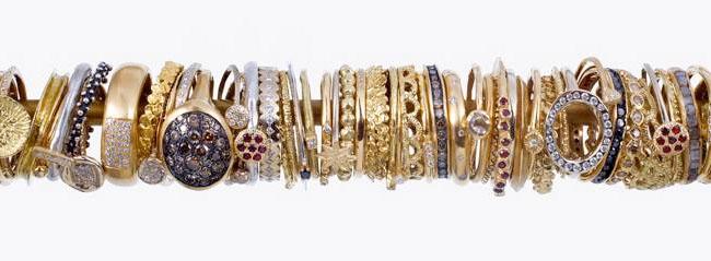 modern wedding rings