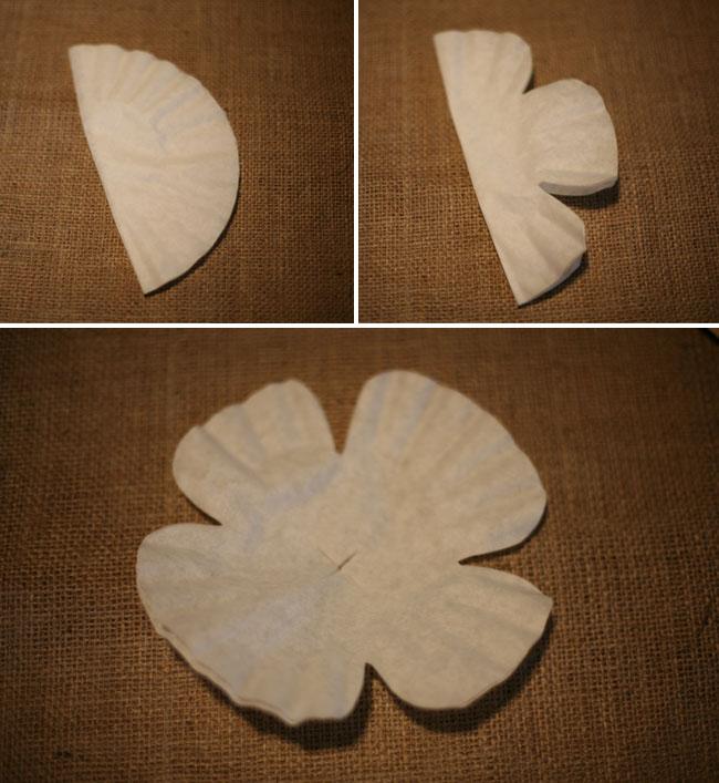 Diy paper flower coffee filter flowers mightylinksfo