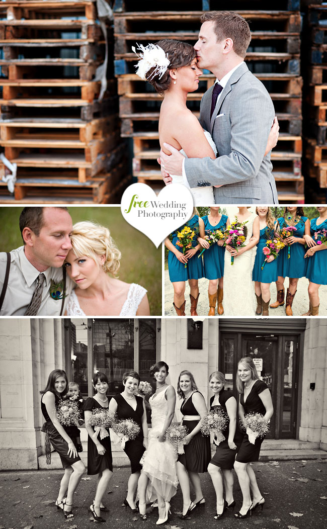 free wedding photography