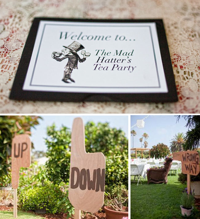 mad hatter bridal shower