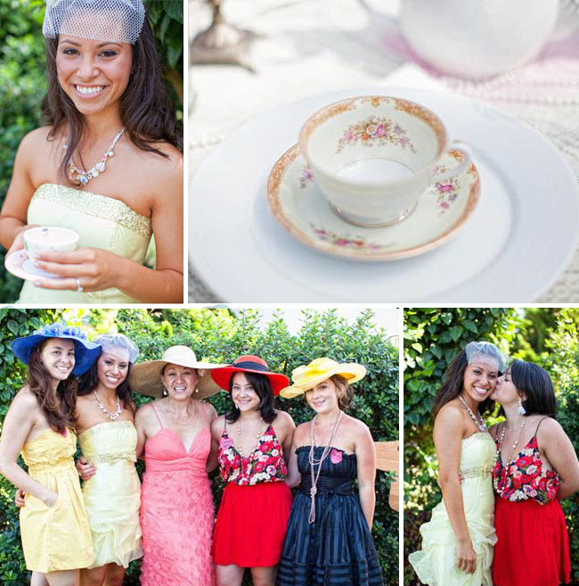 bridal shower hats
