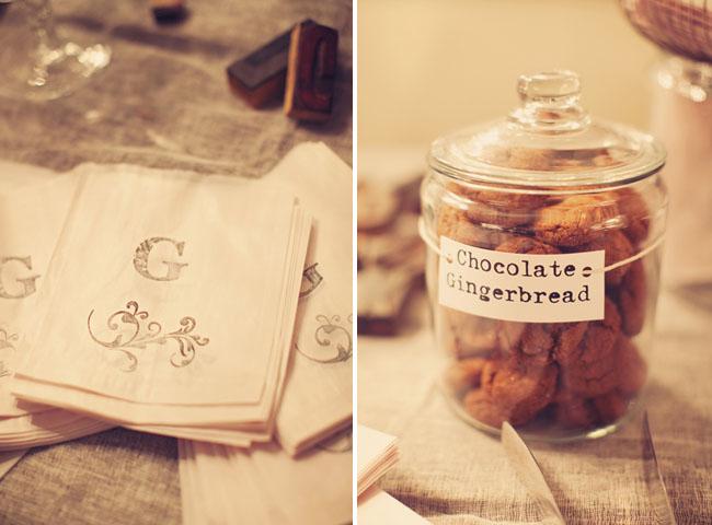wedding favors cookies
