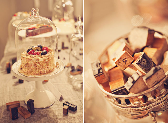 wedding cake under glass