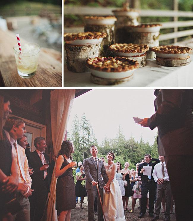 pies for wedding dessert