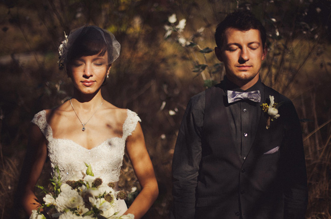 groom in a bow tie