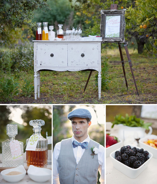 hint of mint drink bar wedding