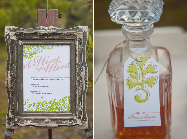 wedding drink bottles