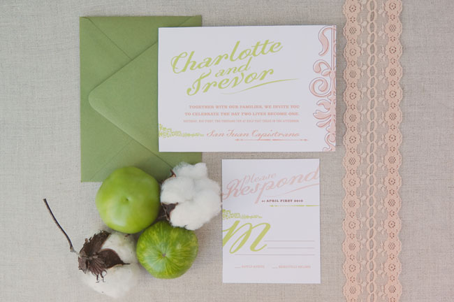 sweet southern wedding invitations