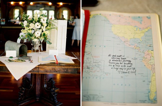 guestbook with maps