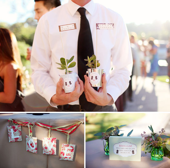 wedding favor succulent