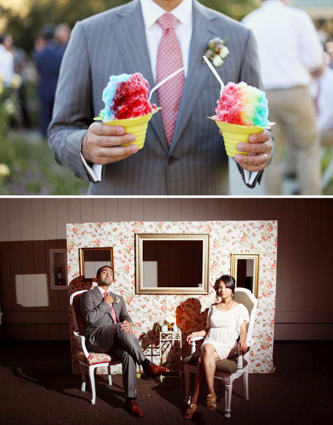 sno cones wedding