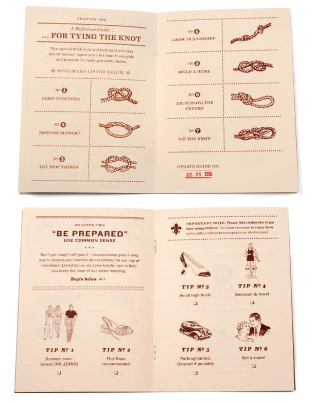 tying the knot handbook wedding guide