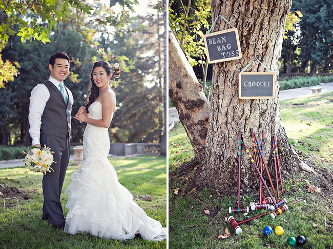 croquet wedding games