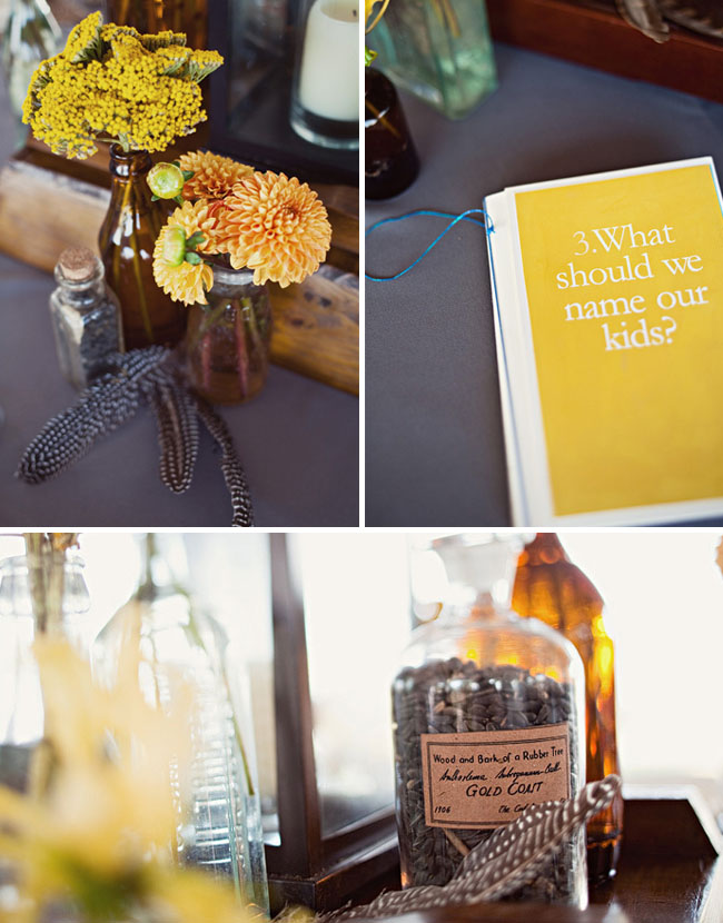 wedding table book