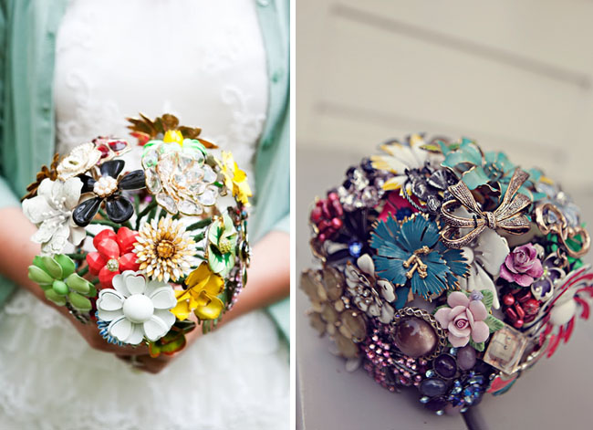 brooch bouquet for wedding
