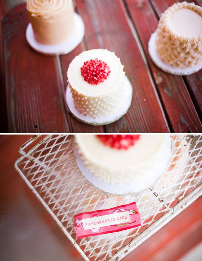 mini cakes for wedding