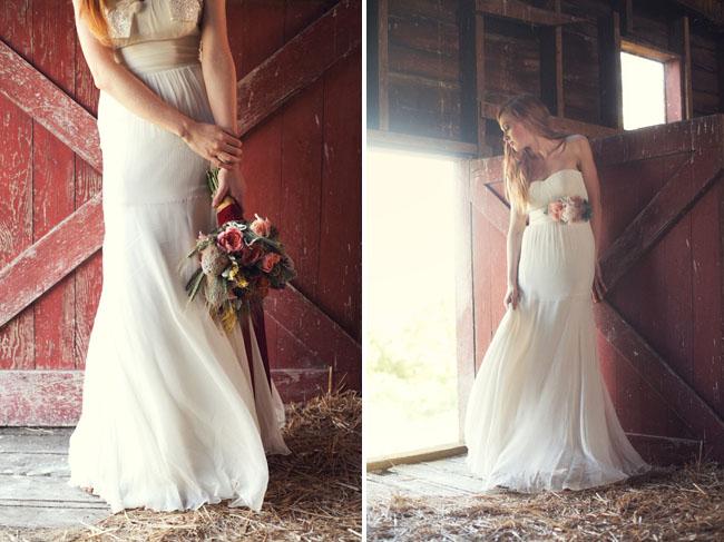 Rustic Wedding Dress 36 Spectacular Autumn Wedding Fashion from