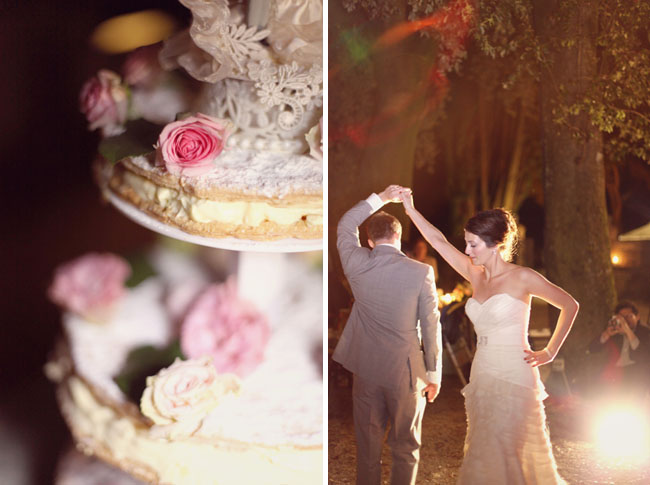 crepe wedding cake