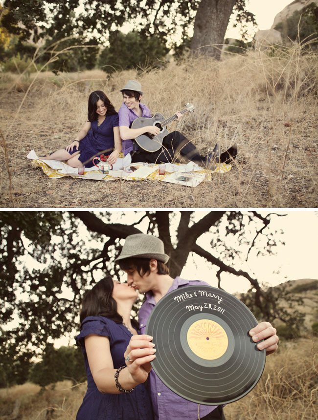 record for wedding save the date