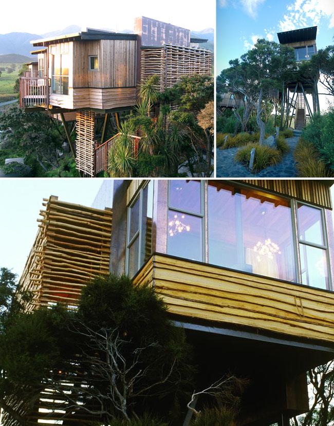 new zealand treehouse honeymoon