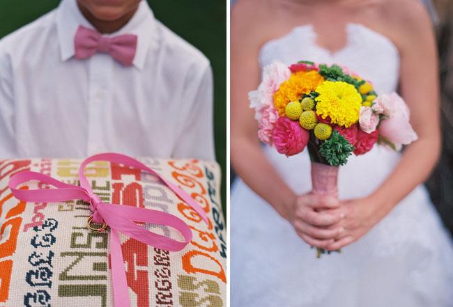 bright ranunculs bouquet