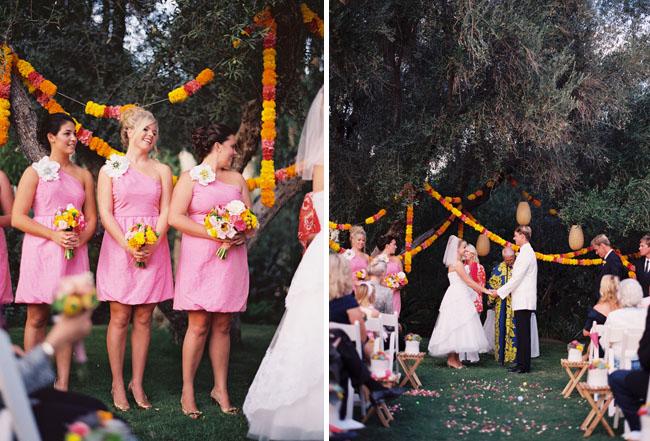 streamers for wedding ceremony
