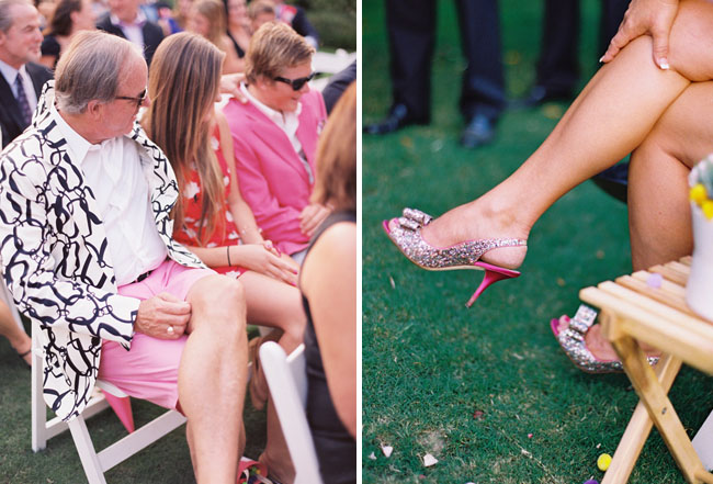kate spade colorful sparkly shoes wedding