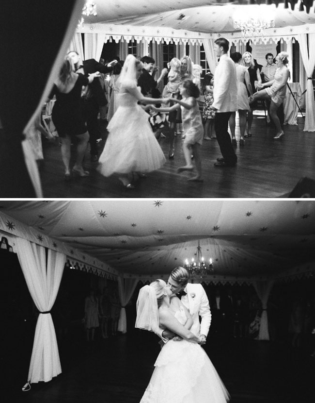 wedding first dance black and white photos