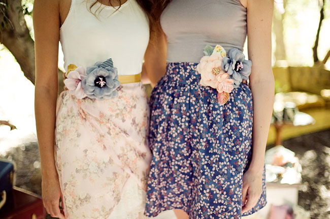flower belts for dresses