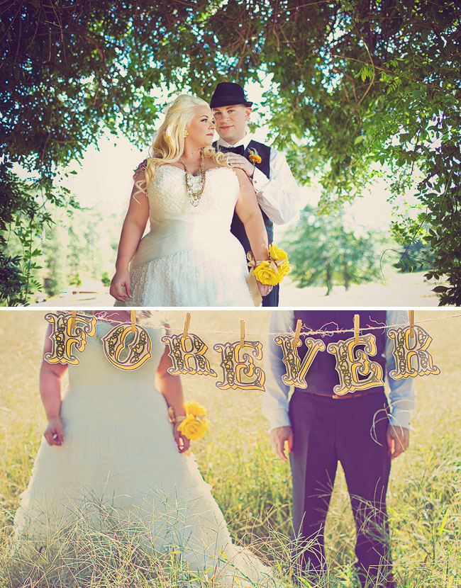 forever wedding sign
