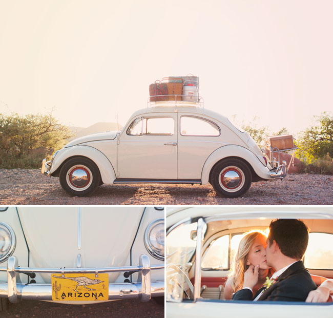 A day after session in sedona green wedding shoes weddings vintage vw bug sedona junglespirit Images