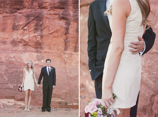 wedding couple in sedona