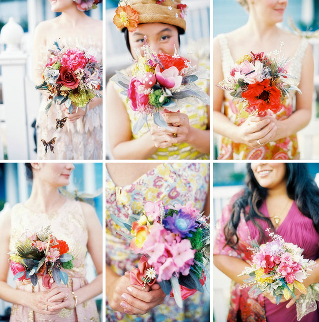 fun wedding bouquets