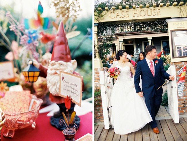 gnome at wedding