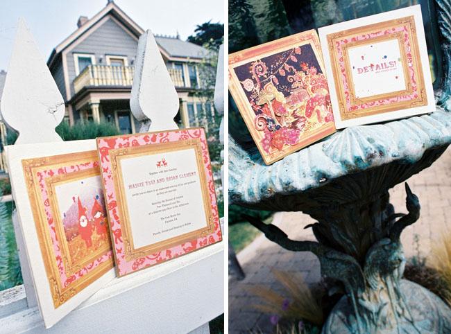 wedding invitations gnomes