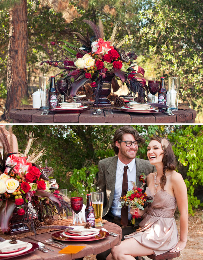 winter wedding reception ideas