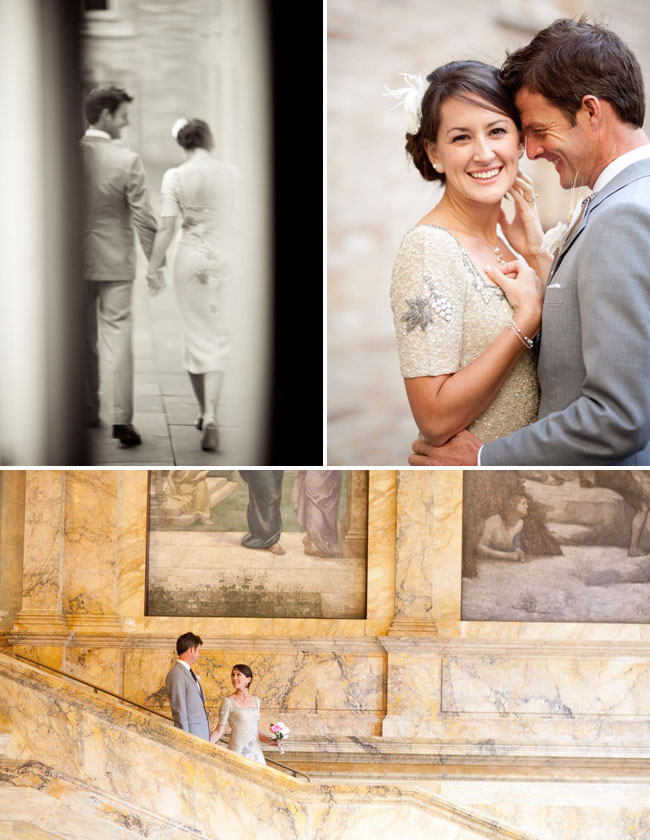 boston library wedding