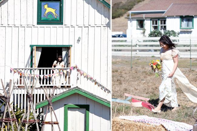 goat farm wedding