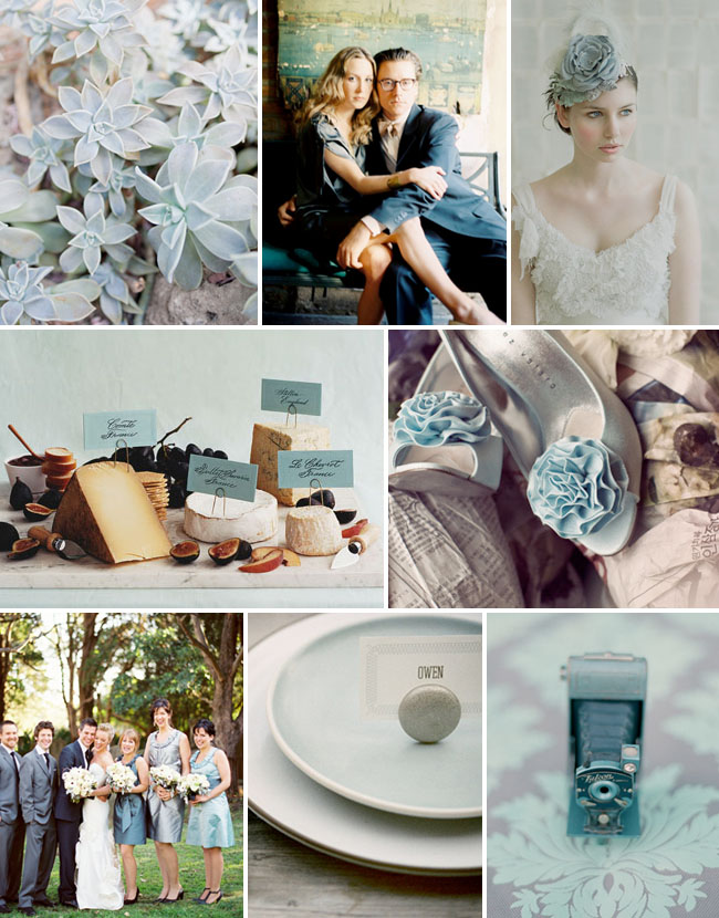 pale blue inspiration board