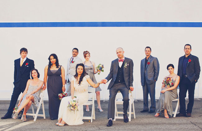 bridal party our labor of love photography