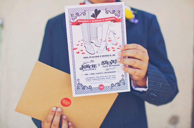 wedding invitation fun