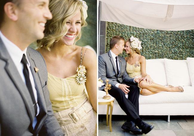 yellow gold wedding dress