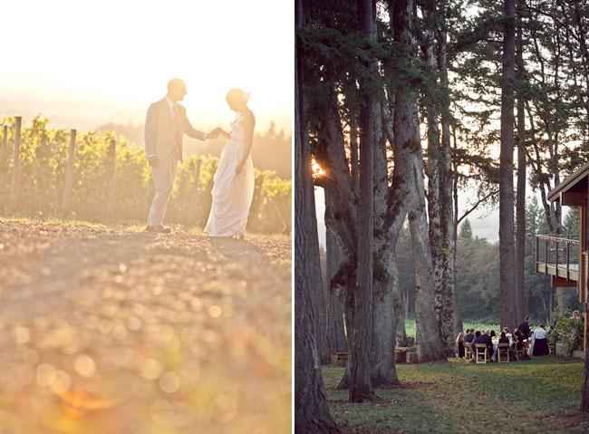 wedding outdoors
