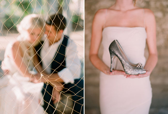 silver sequin sparkly wedding shoes