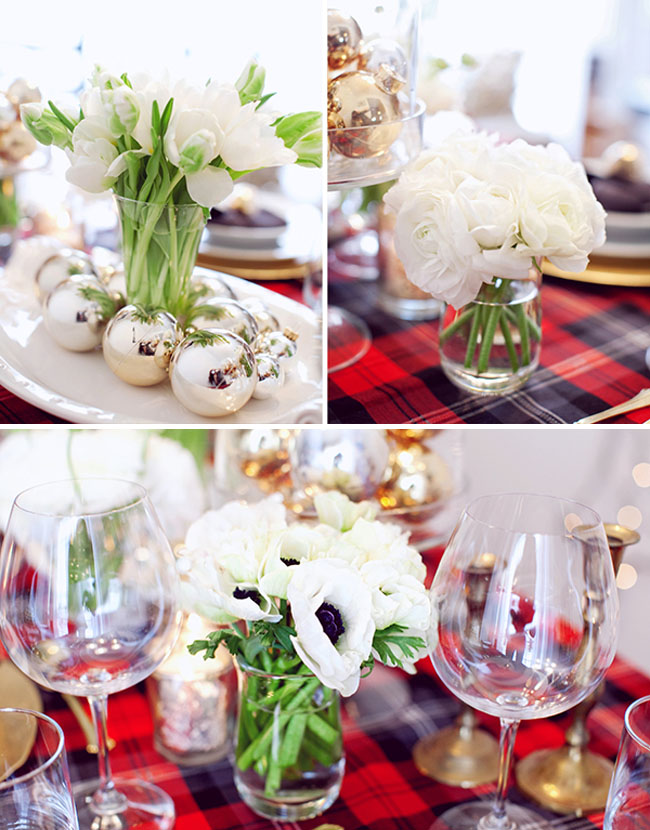 anemones for wedding decoration