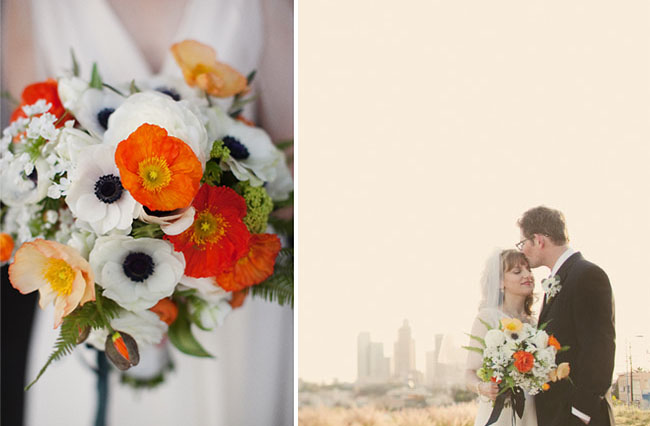 10 wedding bouquets of 2010 anemones and poppy bouquet mightylinksfo