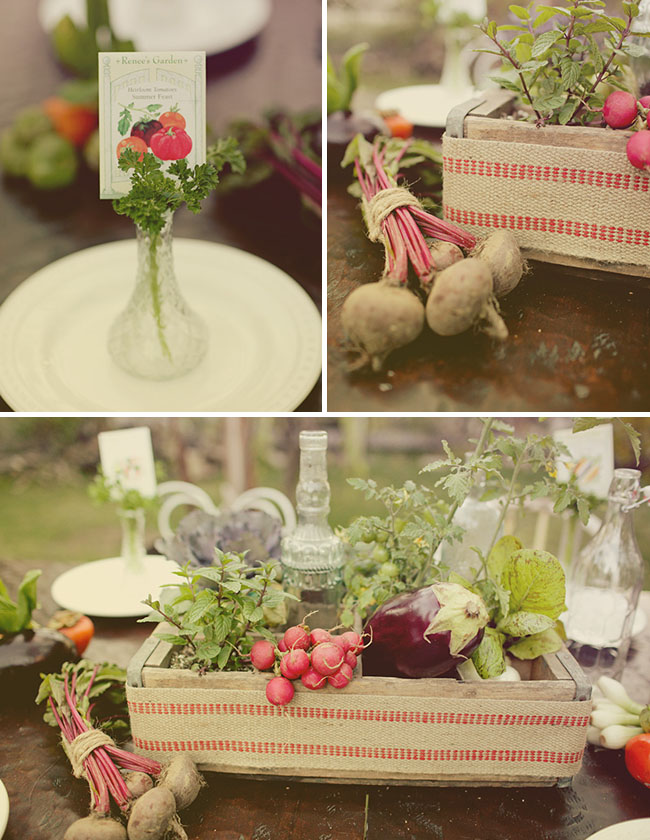 vintage rentals rustic garden table design