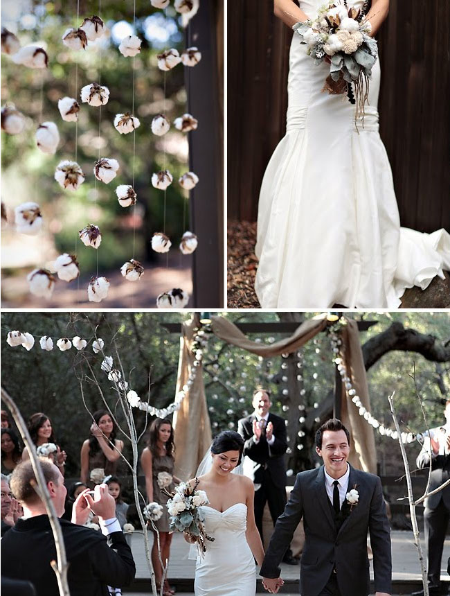 raw cotton wedding details